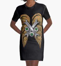 Steam Angel Graphic T-Shirt Dress