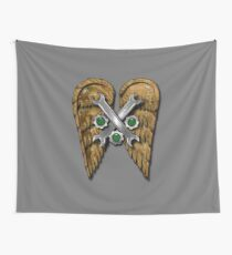 Steam Angel Wall Tapestry