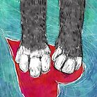Little Kitty Paws by inkedinred