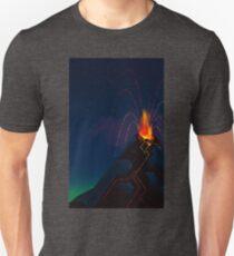 Erupting Volcano Unisex T-Shirt