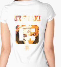 UZUMAKI NARUTO Women's Fitted Scoop T-Shirt