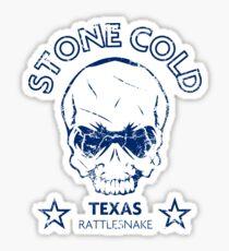 Texas Skull Sticker