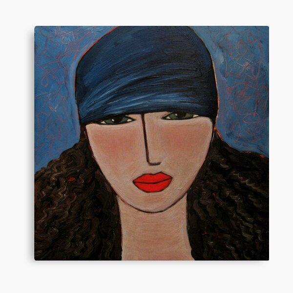 Bandana Beauty Canvas Print