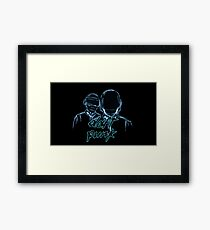 Daft Punk Music Framed Print