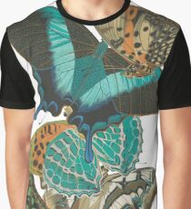Vintage Butterflies Graphic T-Shirt