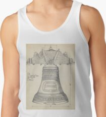 Fontainbleau Plantation Bell - Thomas Byrne - Vintage Architecture Tank Top