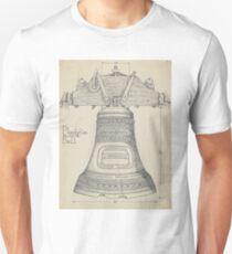 Fontainbleau Plantation Bell - Thomas Byrne - Vintage Architecture Unisex T-Shirt