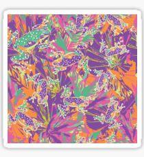 Rainforest Rave Sticker