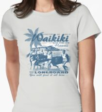 hawaii Womens Fitted T-Shirt