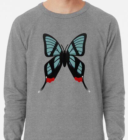 Glasswing Swallowtail Butterfly Lightweight Sweatshirt