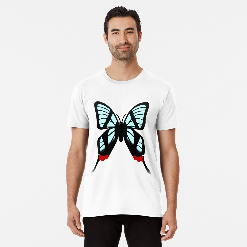 Glasswing Swallowtail Butterfly Premium T-Shirt