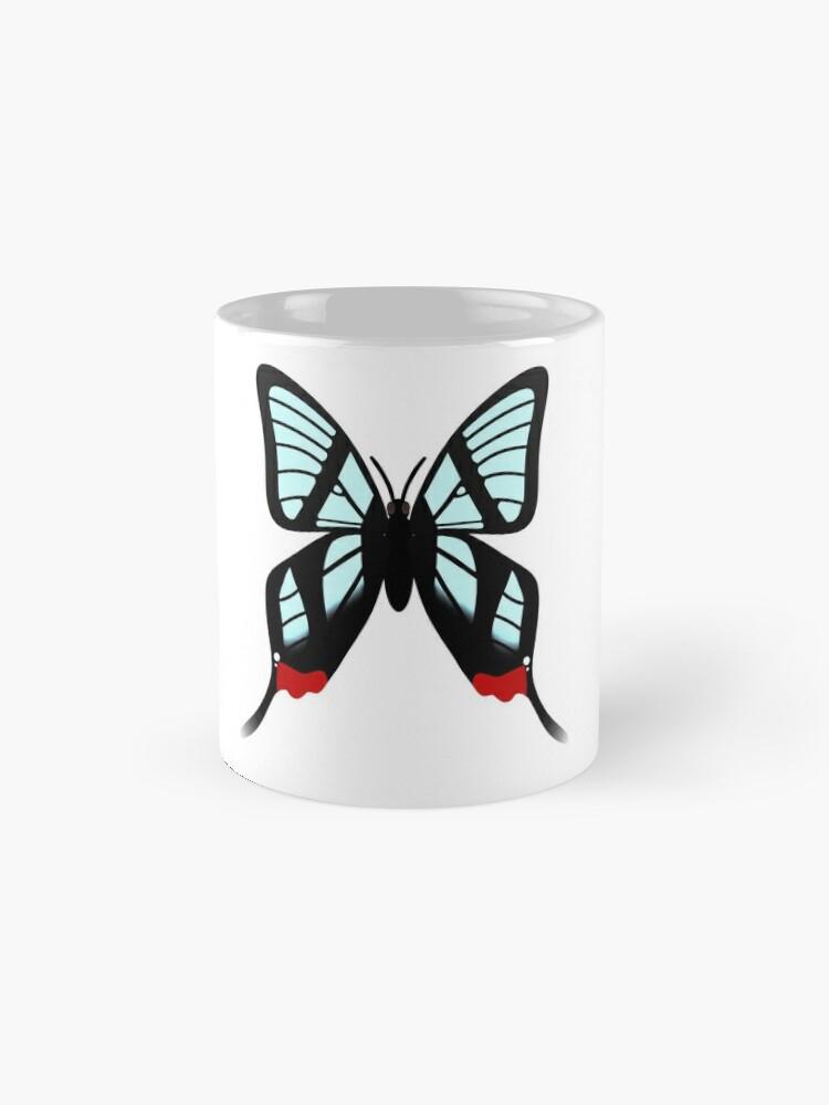 Alternate view of  Glasswing Swallowtail Butterfly Mug