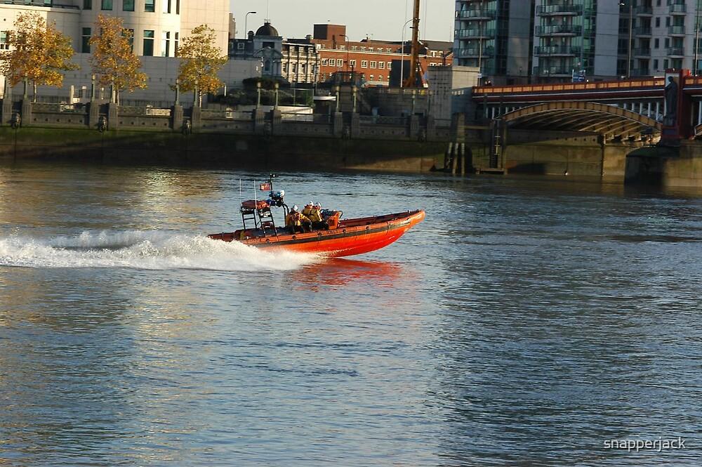 RNLI. Rescue Boat by snapperjack