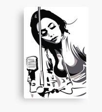 PJ Harvey (fan art vector illustration) Canvas Print