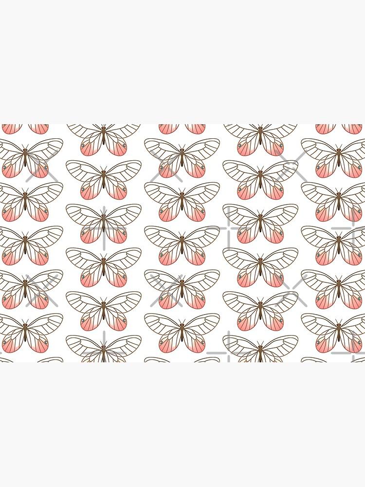 Pink Glasswing Butterfly by Elisecv