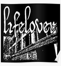 Lifelover, depressive black metal, doom metal Poster