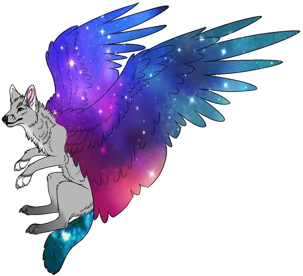 """""""Galaxy Wolf"""" By DopeSh1t"""