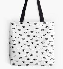 Boho Augen Tasche
