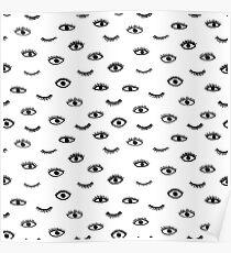 Boho eyes Poster
