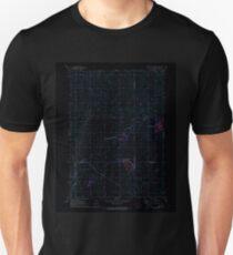 USGS TOPO Map Iowa IA Rush Lake West 175451 1971 24000 Inverted Unisex T-Shirt