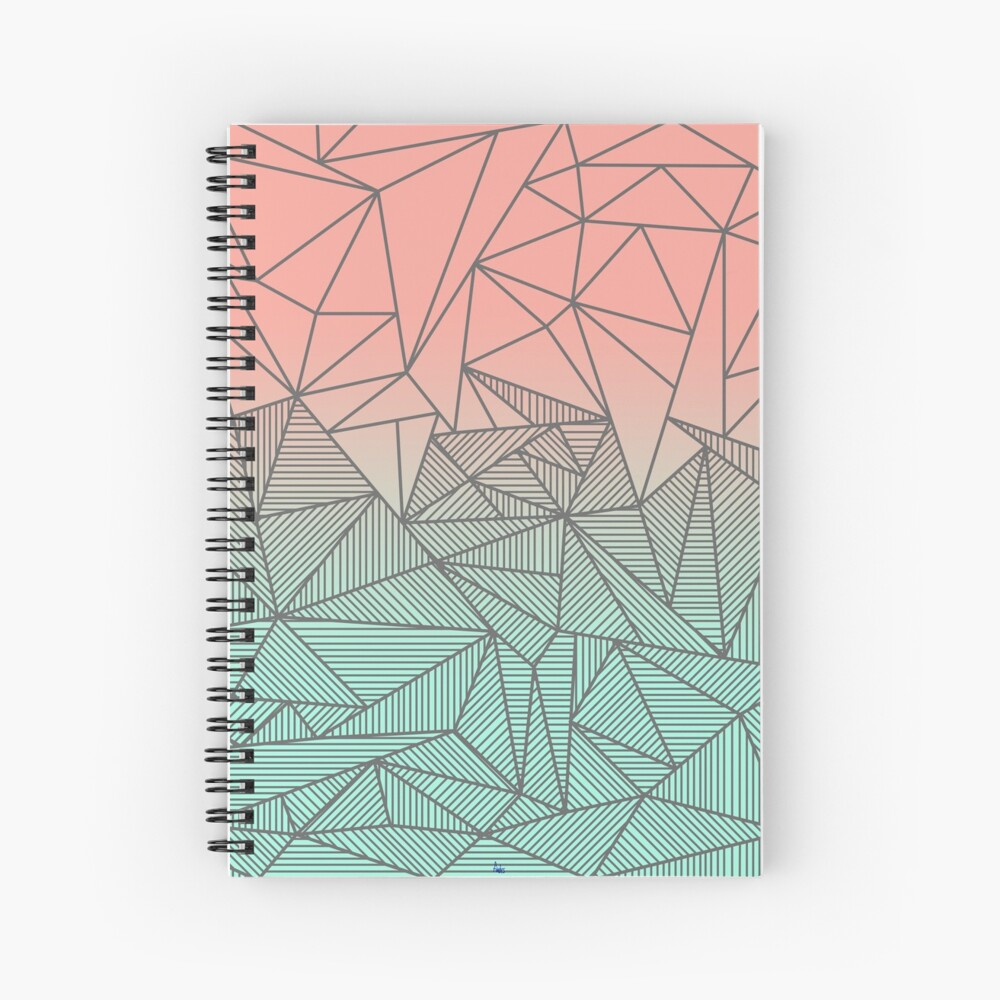 Bodhi Rays Spiral Notebook