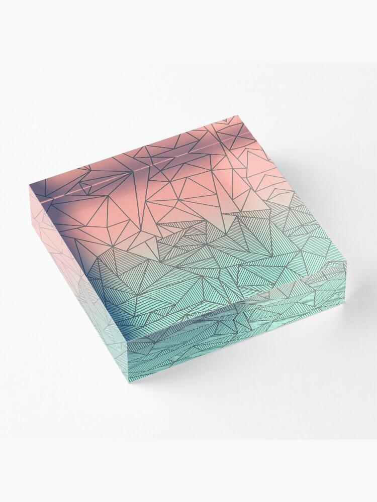 Alternate view of Bodhi Rays Acrylic Block
