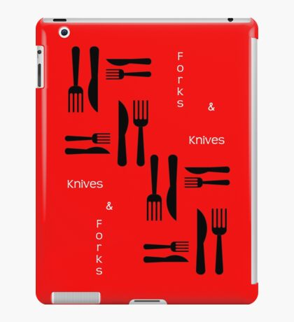Knives and Forks iPad Case/Skin