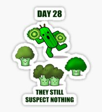 Day 28: they still suspect nothing Sticker
