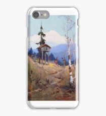 SYDNEY LAURENCE che with Mt. McKinley iPhone Case/Skin