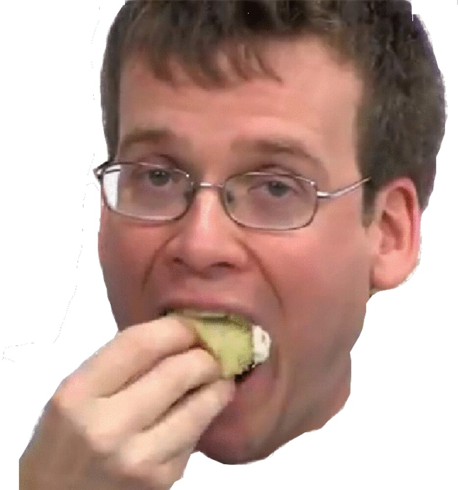 John Green Eating A Cupcake by ruphis99