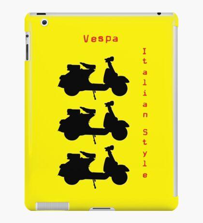Vespa Italian Style iPad Case/Skin
