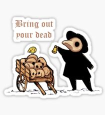 Plague Doctor V Sticker