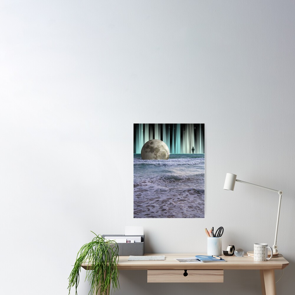 Dreaming At High Tide Poster