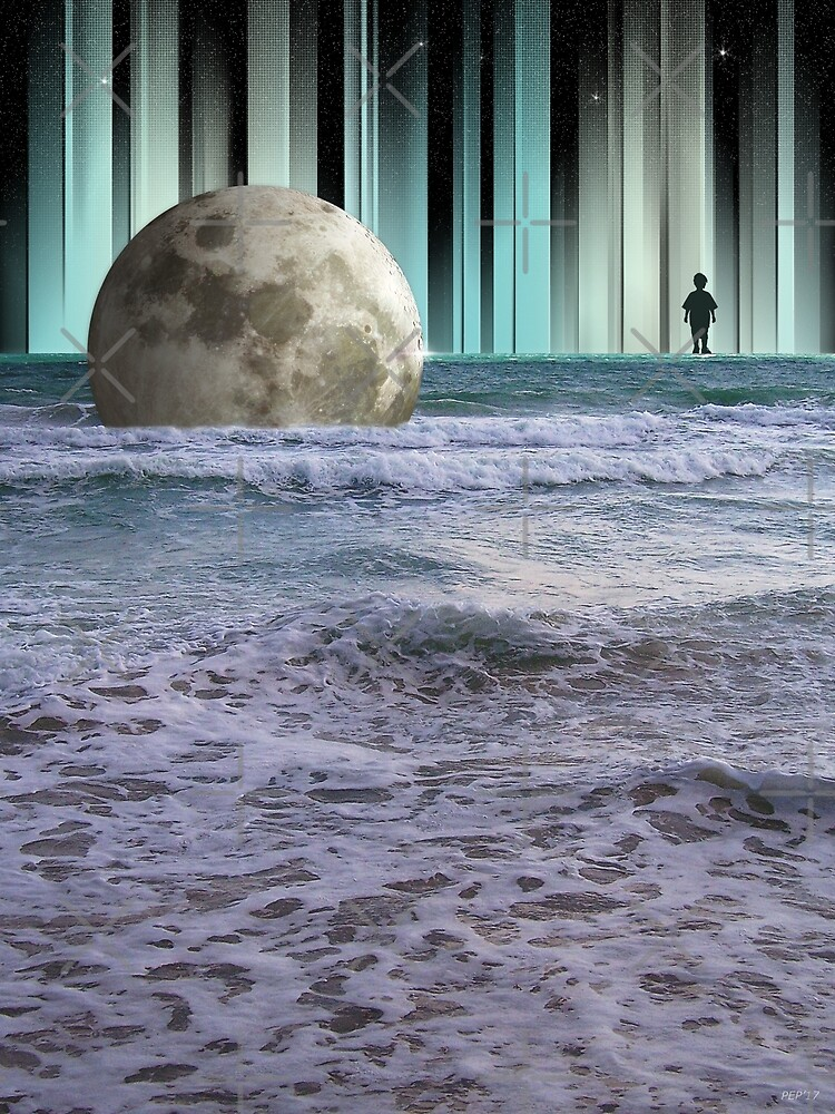Dreaming At High Tide by perkinsdesigns