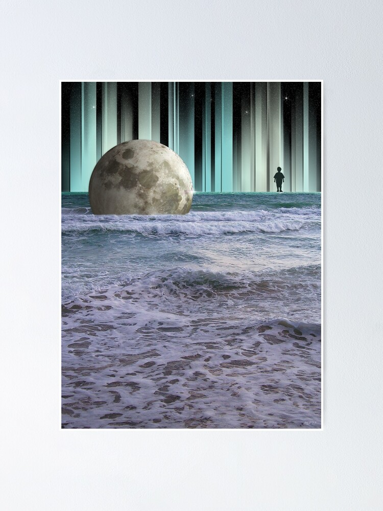 Alternate view of Dreaming At High Tide Poster