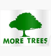 More Trees Poster