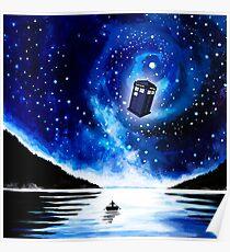 Tardis Doctor Who Poster