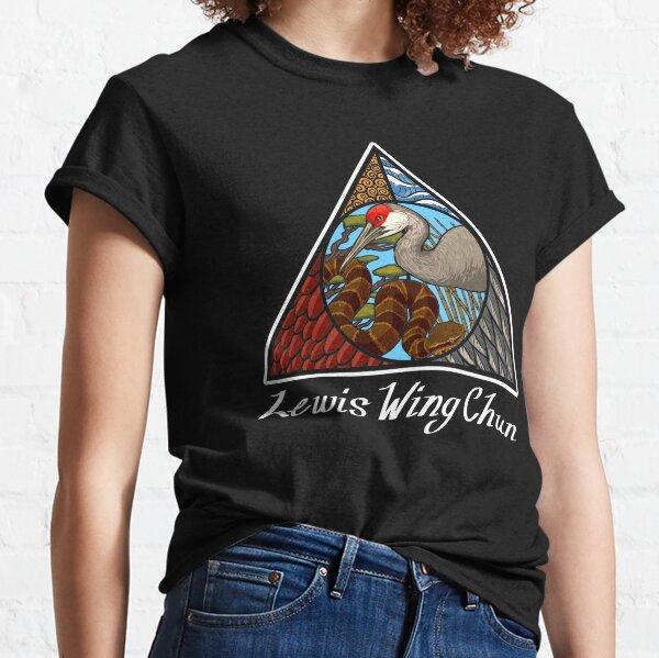 Lewis Wing Chun - design on dark Classic T-Shirt