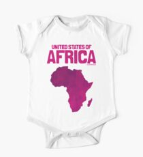 United States of Africa One Piece - Short Sleeve