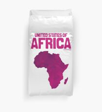 United States of Africa Duvet Cover