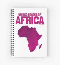 United States of Africa Spiral Notebook