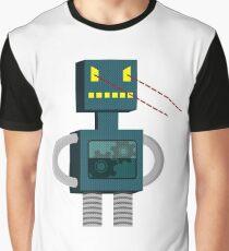 Angry Robot Laser Fun T-Shirt Graphic T-Shirt