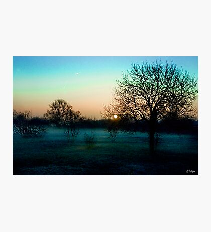 A winters morning Photographic Print