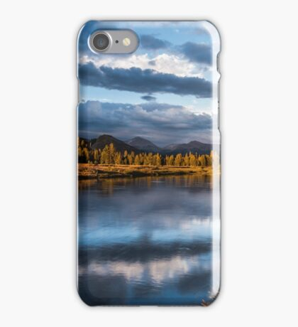 Tuolumne River Late Afternoon iPhone Case/Skin