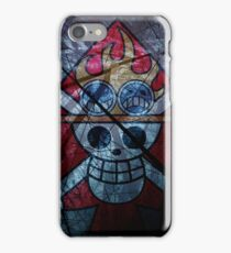"Flag ACE ""One Piece"" iPhone Case/Skin"