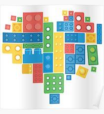 Lovely Blocks Poster