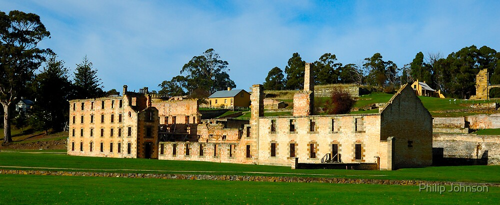 Still Standing - Port Arthur Historic Site, Tasmania, Australia by Philip Johnson