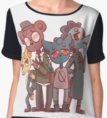 Night in the Woods Chiffon Top
