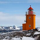 Yellow Lighthouse by Photos by Ragnarsson