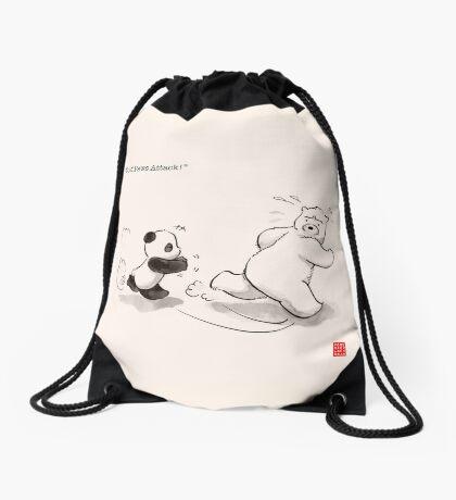 Cold Paws Attack Drawstring Bag